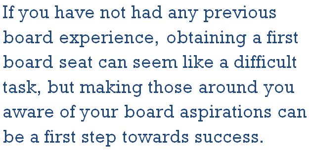 Board Director Tip
