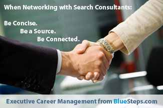 Networking with Executive Search Consultants