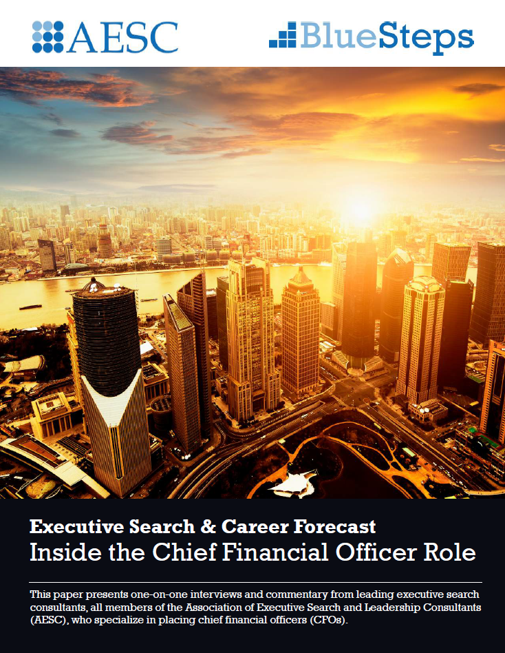 Blue Steps To Success: Executive Search & Career Forecast: Inside The Chief