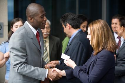 senior executives business networking